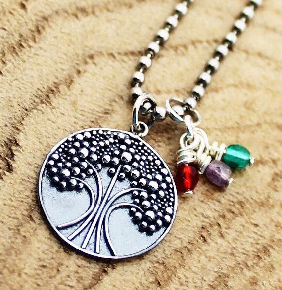 Sterling Silver Granulation Tree Of Life by RootedInLoveCustom