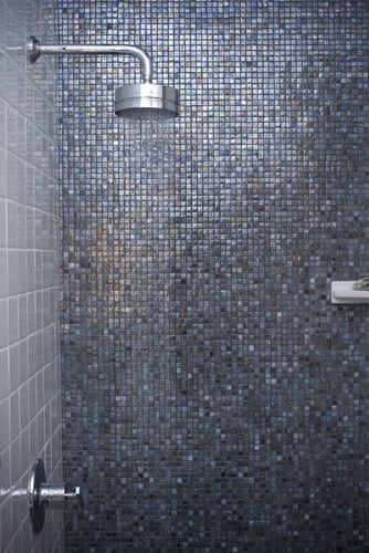 Glass Tile Walls Design, Pictures, Remodel, Decor and Ideas