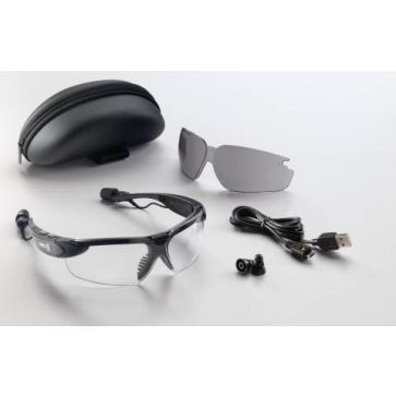 UVEX AcoustiMaxx Bluetooth Safety Glasses| Visit Concept controls for buying Safety Glasses