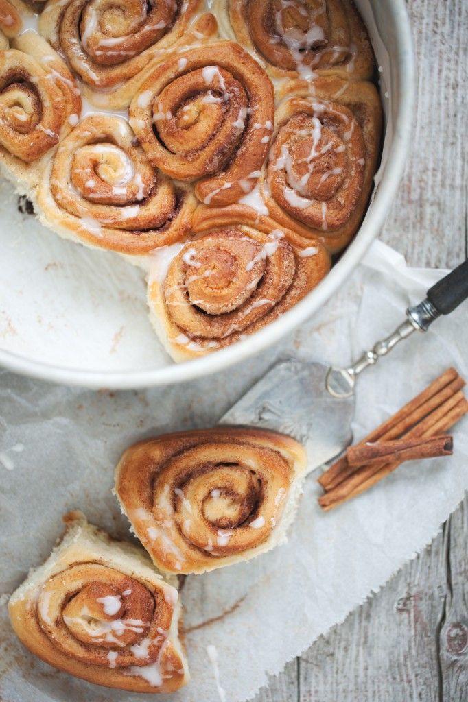 Lauwarme Zimtschnecken / cinnamon rolls