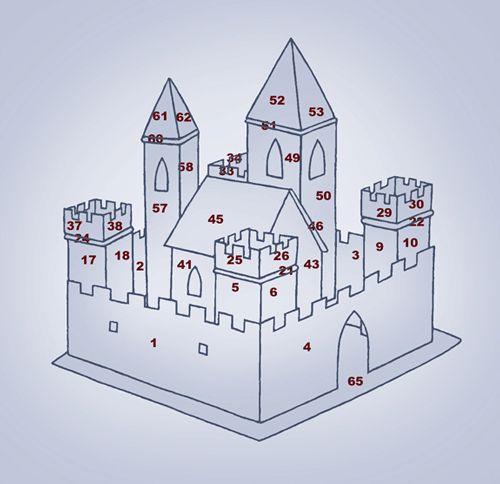 25 unique gingerbread house template ideas on pinterest fantasy castle gingerbread pattern let your imagination run wild to create this towering castle based on pronofoot35fo Image collections