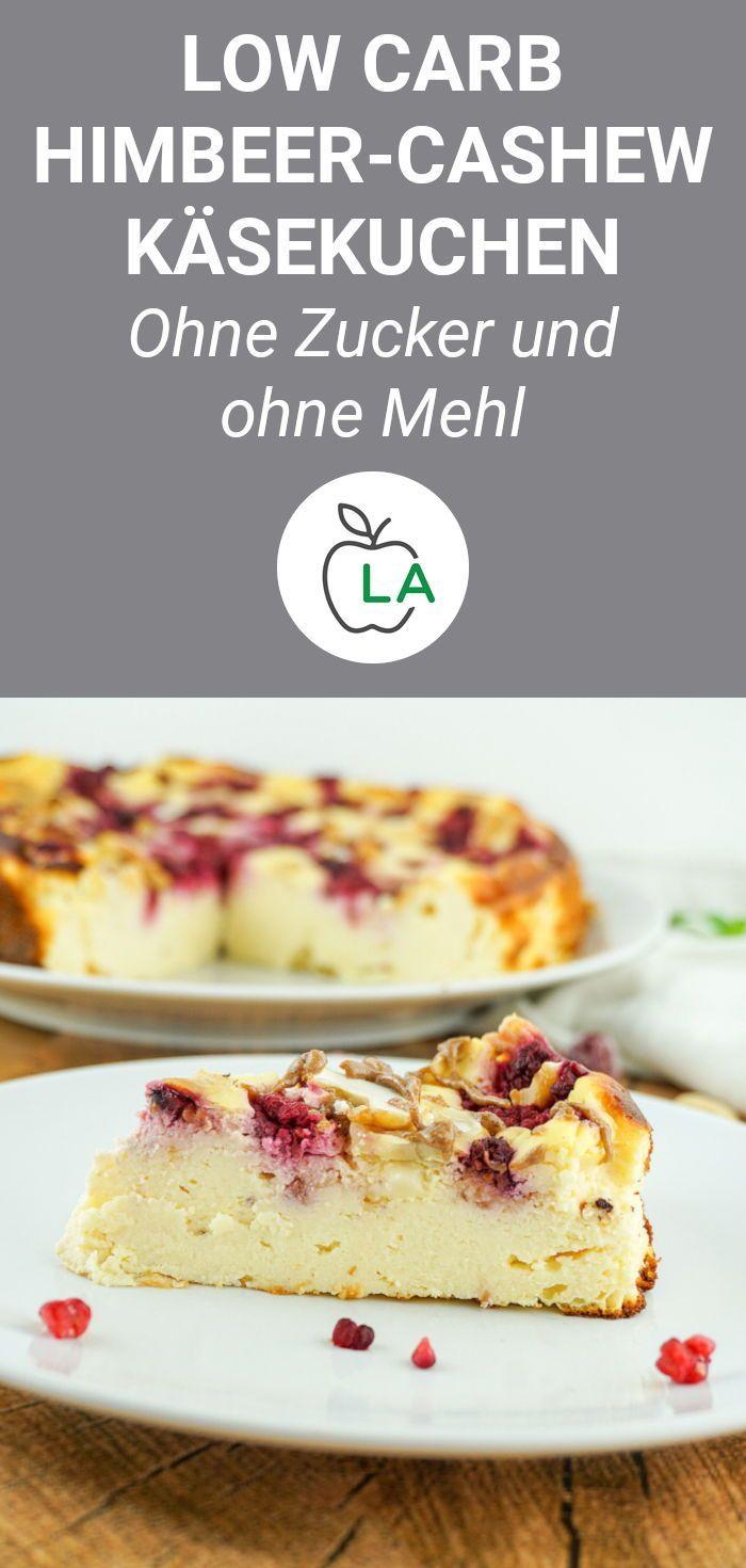 Low Carb Kasekuchen Ohne Boden Leckeres Cheesecake Rezept Wenig Kalorien Cheesecake Rezept Gesunde Rezepte Wenig Kalorien