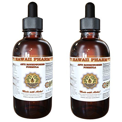 Anti Roundworms Formula Liquid Extract Wormwood Artemisia Absinthium Herb Black Walnut Juglans Nigra Hulls Cloves Syzygium Aromaticum Flower Buds Tincture Supplement 2x2 oz * Find out more about the great product at the image link.