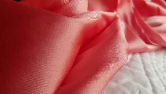 PINK SHERBET silk curtain silk taffeta interior cu…