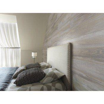 Lambris PVC bois datcha gris GROSFILLEX Element wood L.120 x l.15.4 cm x Ep.6 mm   Leroy Merlin