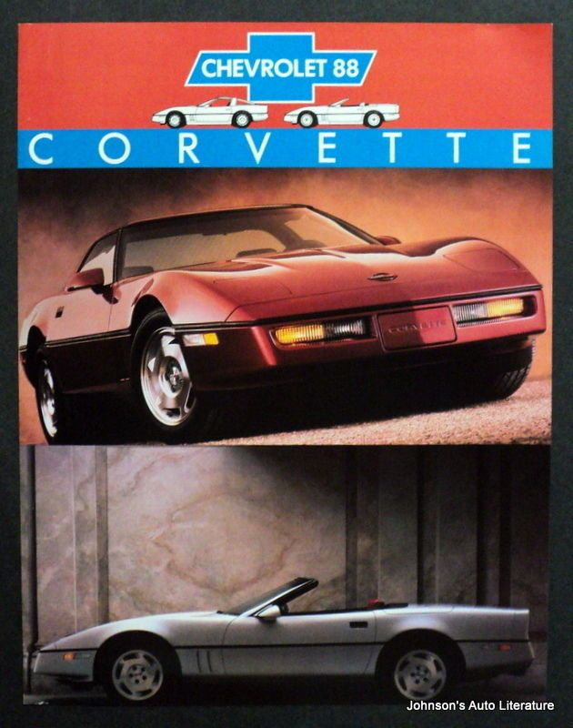 Best  To  Corvette Brochures And Ad Images On