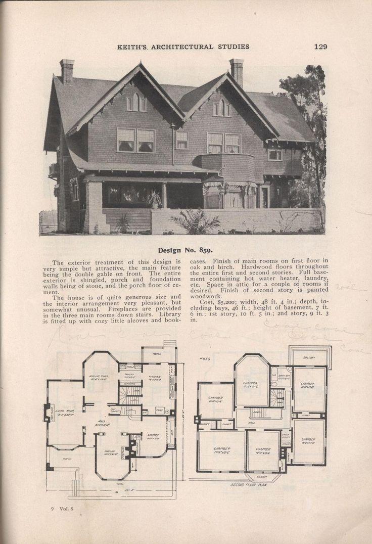 125 best house plans images on pinterest vintage houses