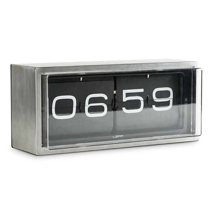 Brick Wall/Desk Clock by Leff.