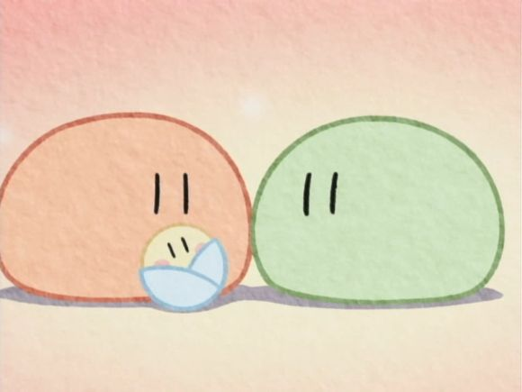 THE DANGO FAMILY!!!!!! I had to stop watching this b/c it made me cry! Even the Dango Song! But the Dango family is so cute!