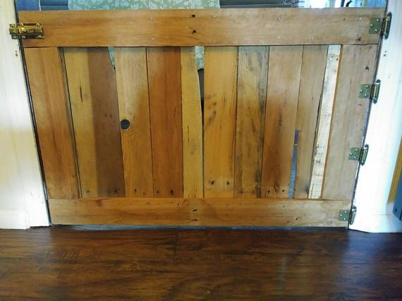 Check out this item in my Etsy shop https://www.etsy.com/listing/524619980/doggie-gate-rustic-dog-gate-wood-dog