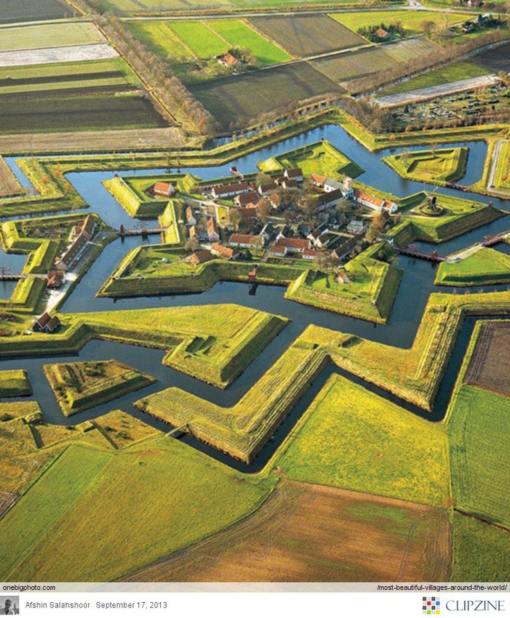 Most Beautiful Villages Around The World photo This is Boertange in the Netherlands.