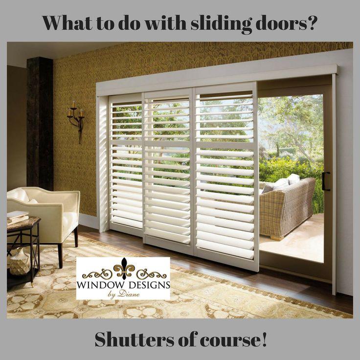 100 best hunter douglas shutters images on pinterest shades blinds shades shutters for sliding glass doors appalachian blind closet co planetlyrics Choice Image