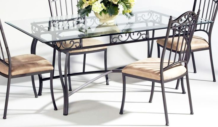 Metal Chairs Room Furniture With Metal Minimalist Dining Room Tables