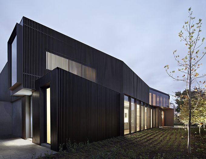 Melbourne shrouded house