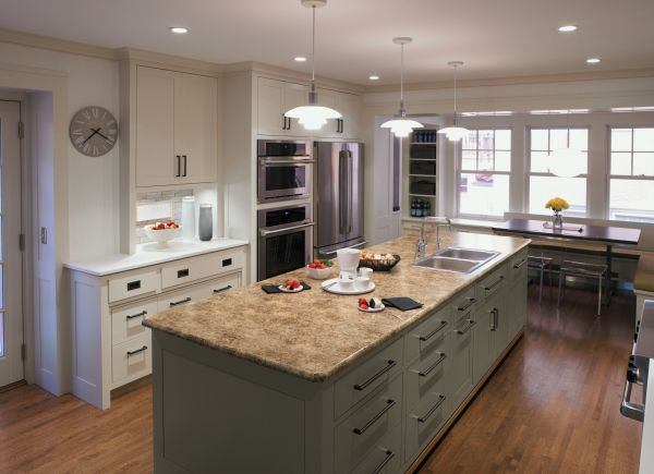 Butterum Granite Formica Laminate Countertops Mix Well With Other Materials.