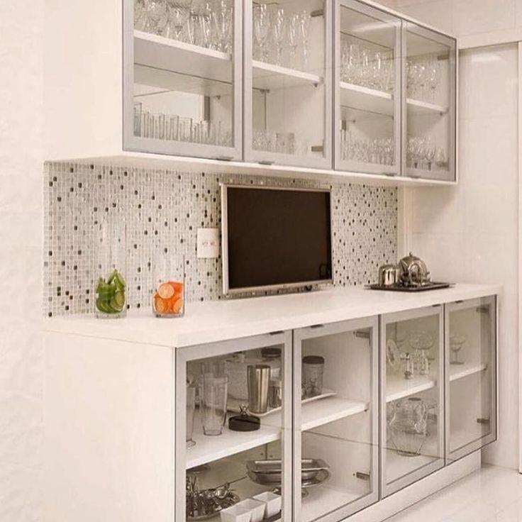 Transparência na cozinha: Um ótimo exercício de organização #organização #cozinha #kitchen #organizesemfrescuras