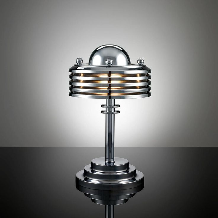 A bit of streamline for a change. Terry Tynan - lamp TT34