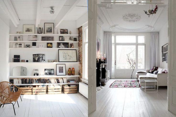 14x de charme van een witte houten vloer