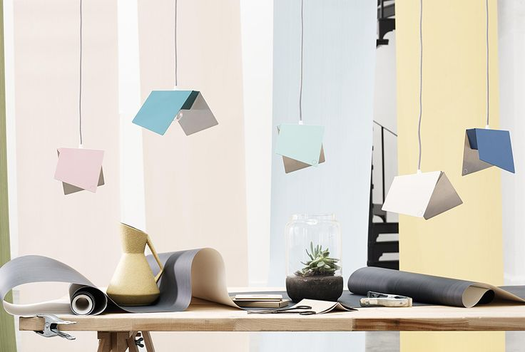 Papillon, the butterfly wing inspired pendant light series. Shown here in various colours as featured in Alvar the style and culture magazine that don't look for trends but stories, with passion and thought. Photography by Chris Everard styling by Emma Kay