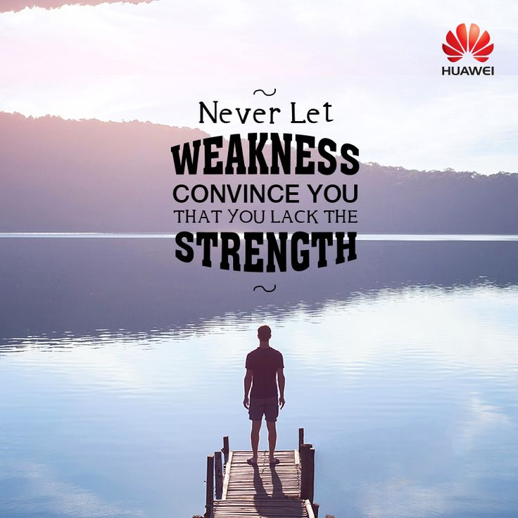 We all have weak moments, but the strength to overpower them lies within. Find it in you today. #MondayMotivation