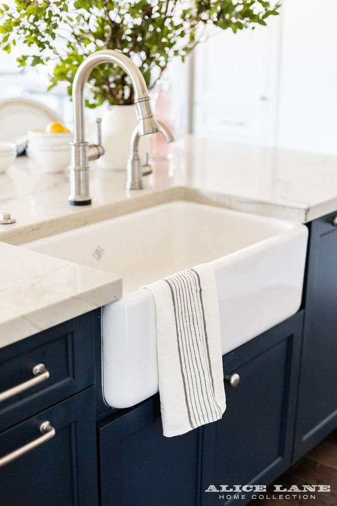 Kitchen faucet. Kitchen faucet, an Artesso Single Handle Pull-Down Kitchen Faucet by Brizo, looks great with the Rohl farmhouse sink. #Faucet…