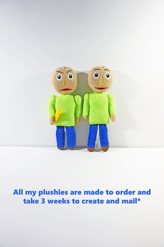 Baldi S Plush Baldi S Basics In Education And Learning