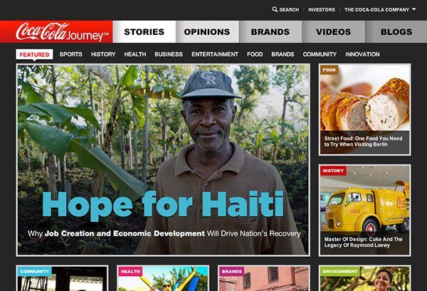 新グローバルサイト「Coca-Cola Journey」が伝える、リーディングカンパニーの在り姿   CONTENT MARKETING LAB(コンテンツマーケティングラボ)