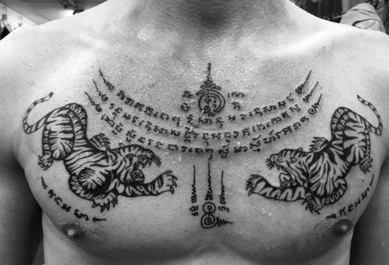 Tatuajes tailandeses 24 diseños tradicionales mágicos