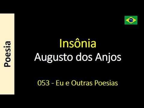 Insônia Augusto Dos Anjos Poema Poemas Poesia Pinterest