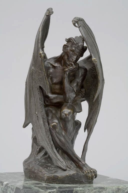 Satan, Jean-Jacques FEUCHÈRE Musée du Louvre