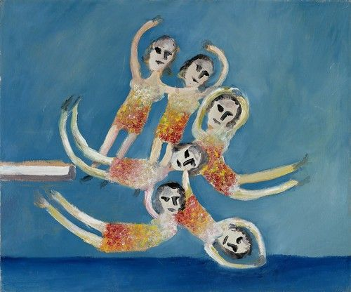 Sidney Nolan, 1945, Diver #art #painting