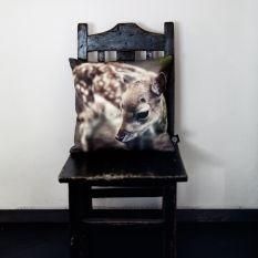 Sierkussen 30x30 hert van By Nord kopen? Bij Mikkili online design