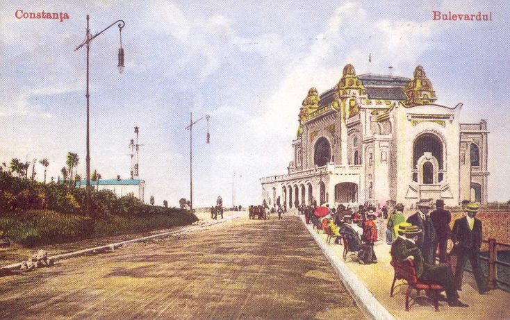 "It was the crown jewel of Romania's ""Monte Carlo""; a pearl watching over the Black Sea where royalty and the elite flocked from all over Europe and wealthy travellers spoke of it around the world, recounting stories of their extravagant gambling escapades at the Casino Constanta. It's unmistakable a"