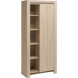Parisot Lana Tall display cabinet in River Oak