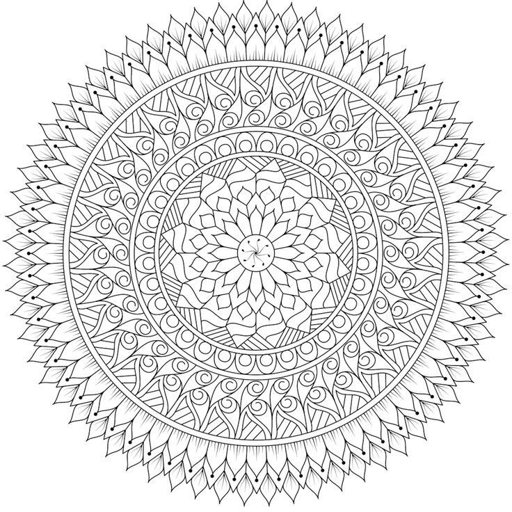 "This is ""Seasons Change"", a coloring page for you to print, color, and share. :) #mandala #free https://mondaymandala.com/m/seasons-change?utm_campaign=sendible-pinterest&utm_medium=social&utm_source=pinterest&utm_content=seasons-change"