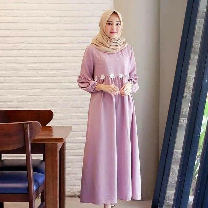 Baju Warna Ungu Cocok Dengan Jilbab Warna Apa