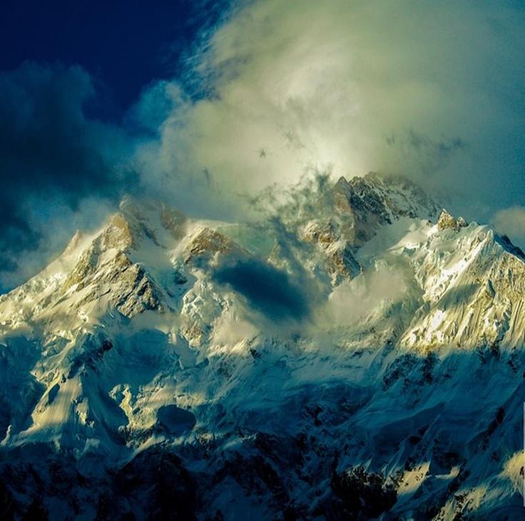 Nanga Parbat (known as the Killer Mountain) - Himalayas, Pakistan. Photo by my friend & fellow Rock Climber S. Hussain.