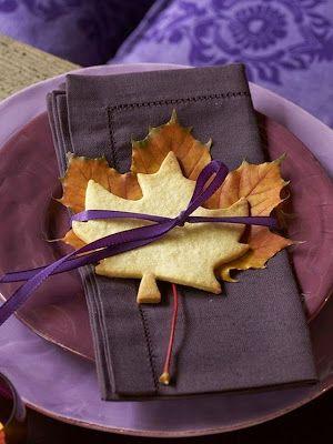 Flighty Naty: Осенний декор стола