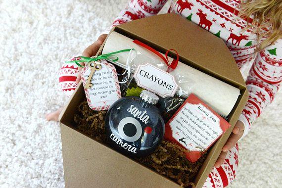 Santa Letter - Letter From Santa - Santa Cam Ornament - Santa Letter Package - North Pole Letter - Santa's Magic Key - Reindeer Food
