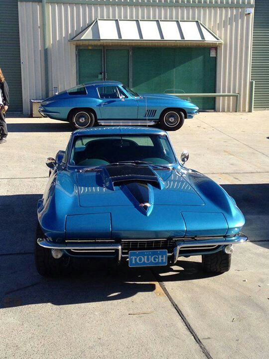 2- 1967 Corvette Stingray Coupes
