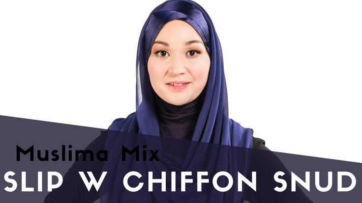 """Как одевать хиджаб быстро: SLIP W CHIFFON SNUD - #12 модель коллекции """"Мгновенные хиджабы""""    {{AutoHashTags}}"""