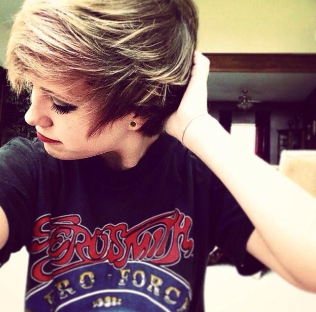 Thishadsomanyhashtagsonit I Needs Dis Short Emo Hair