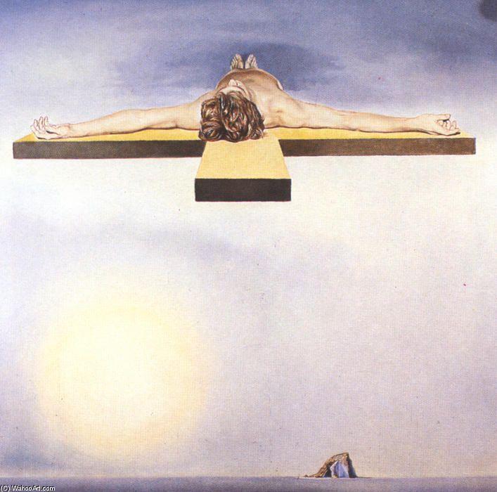 Gala Christi, öl auf leinwand von Salvador Dali (1904-1989, Spain)