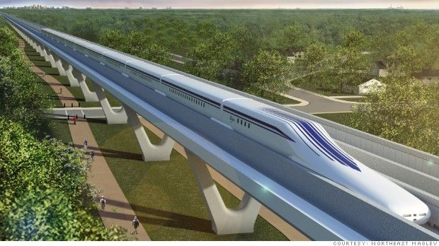 Two proposals from the private sector could bring futuristic high speed rail to the United States.