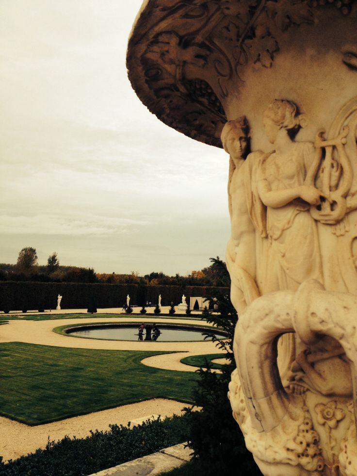 Jardim de Versalhes - Foto: Arquiteta Cláudia F. Ferreira