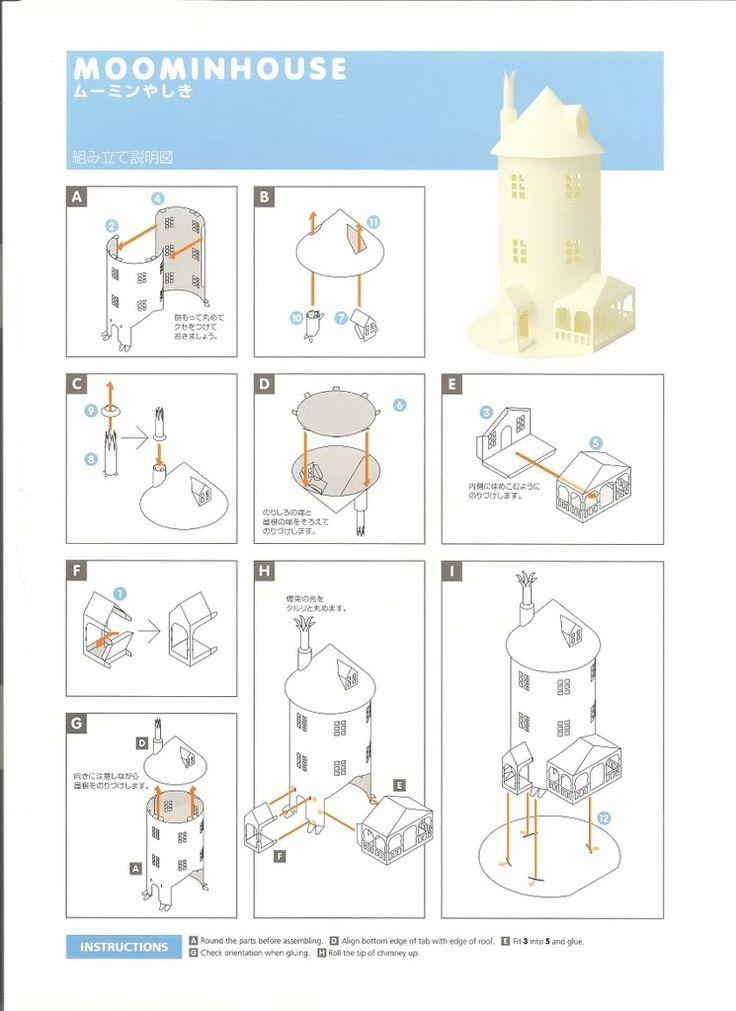 Moomin House Instructions Photo by Yokosumi | Photobucket