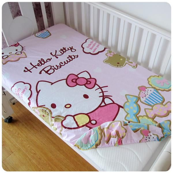 New Brand Cartoon Baby Crib Bedding Set Super Soft Baby Sheets Fitted Sheet 120 60 120 70cm Baby Sheets Baby Crib Bedding Cotton Baby Bedding