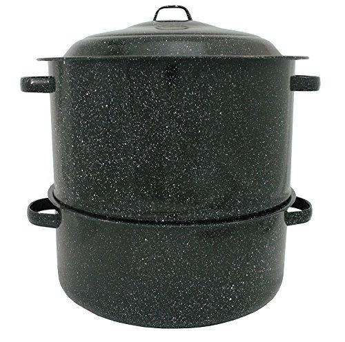 Granite Ware 63171 19Quart EnamelonSteel 2Tier ClamandLobster Steamer ** Click on the image for additional details.  This link participates in Amazon Service LLC Associates Program, a program designed to let participant earn advertising fees by advertising and linking to Amazon.com.