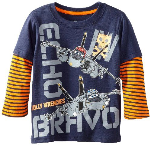 Disney Boy's 2-7 Planes Jolly Wrenches Long Sleeve Tee, Peacoat, 2T Disney http://www.amazon.com/dp/B00DSKQ8I2/ref=cm_sw_r_pi_dp_04q0tb1STSKYJCVM
