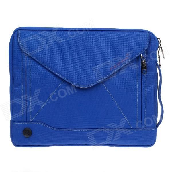 PADWA Universal Dual-Zipper Protective Bag for 13 Notebook / Tablet - Blue